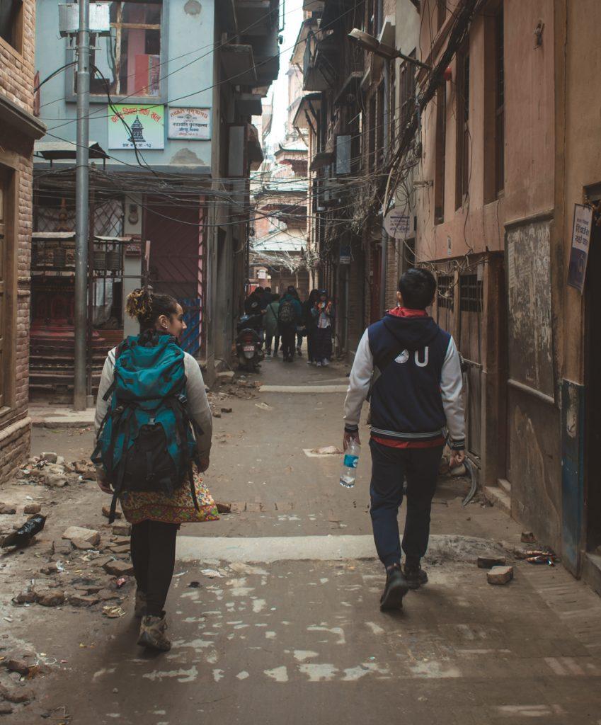 Roaming in kathmandu