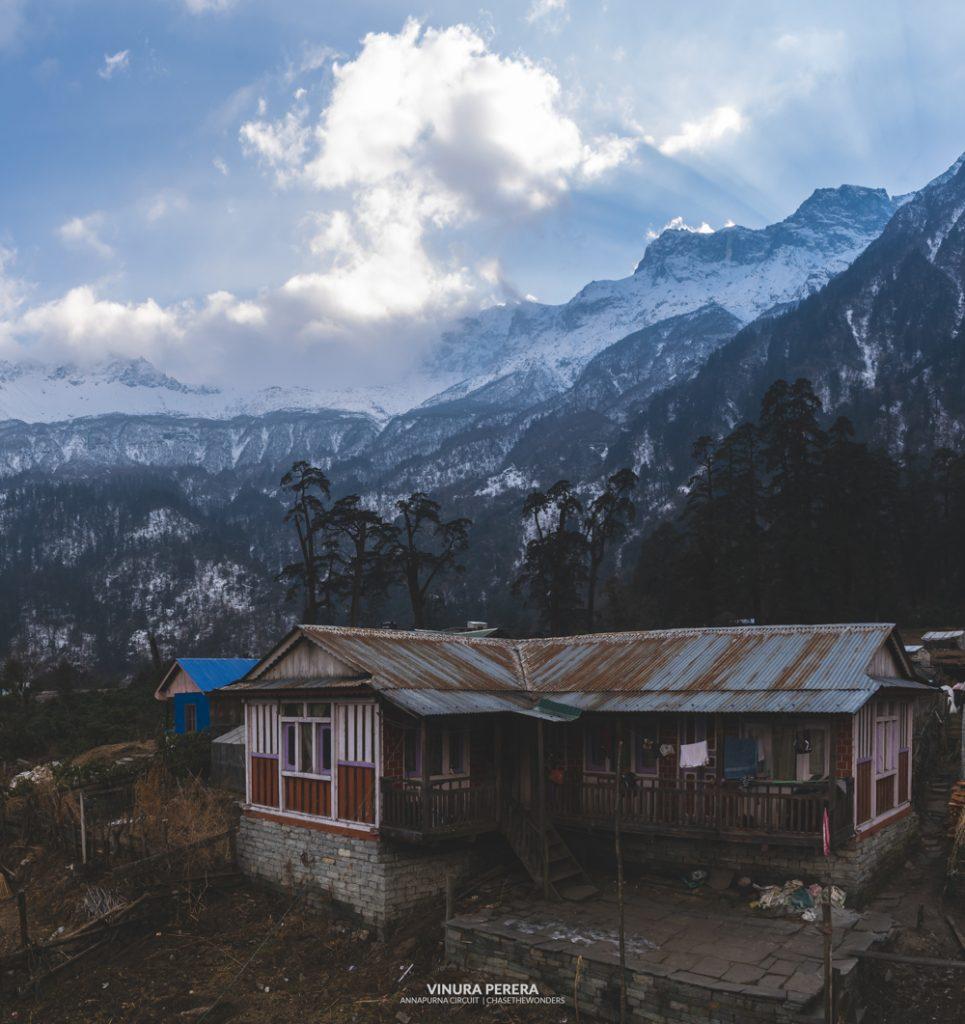 Tea house on Annapurna Circuit